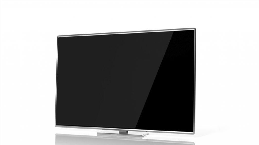 LCD Fernseher ausgeschaltet