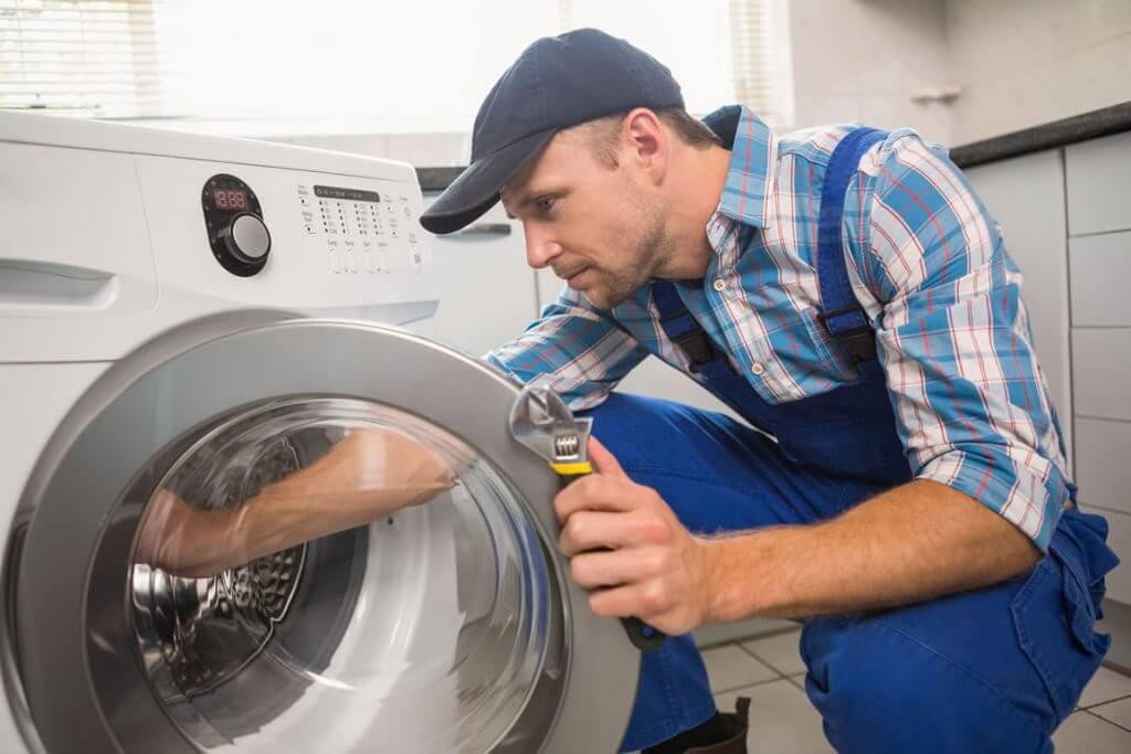 Reparatur von Waschmaschinen